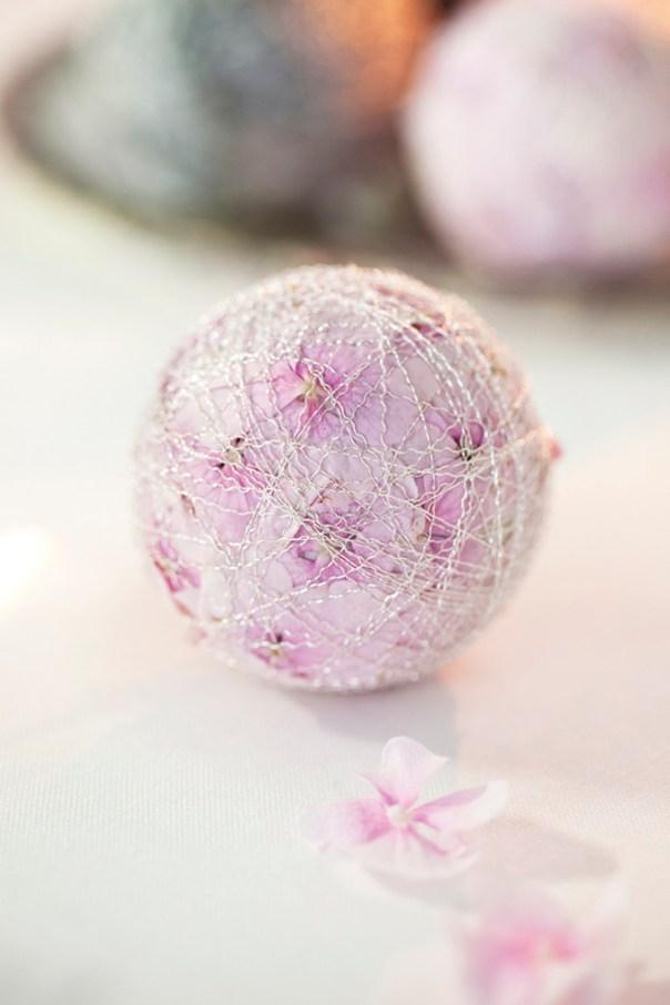 Ingeniørfruen tipser om kuler laget av kronblader fra Hortensia