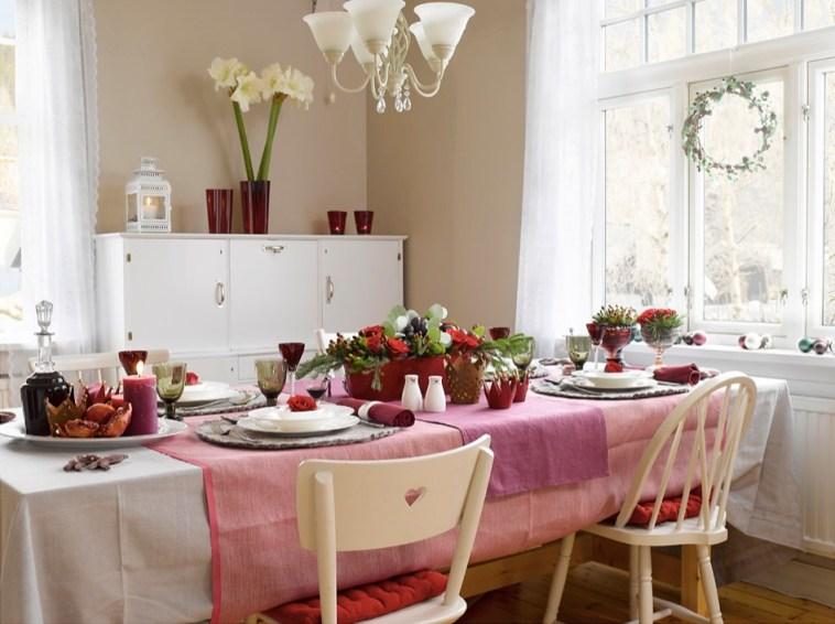 Ingeniørfruens vinrøde festbord