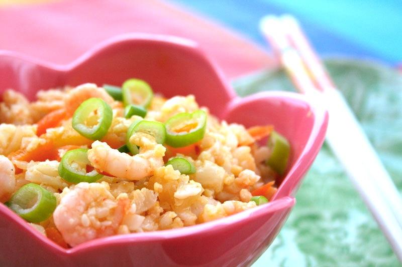 Ingeniørfruens lavkarbo lavkalori fried rice Paleo style