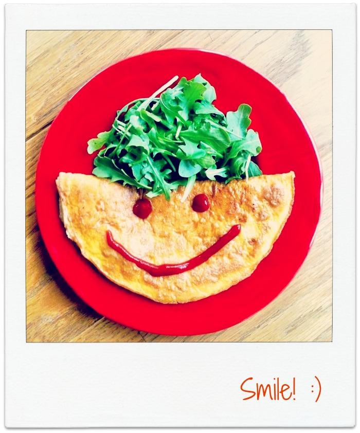 Ingeniørfruens studentmat, omelett