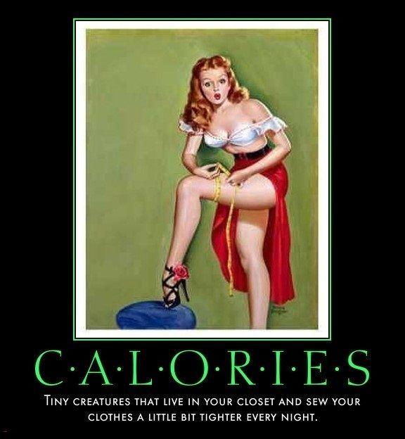 Ingeniørfruen om forbrenning av 100 kalorier