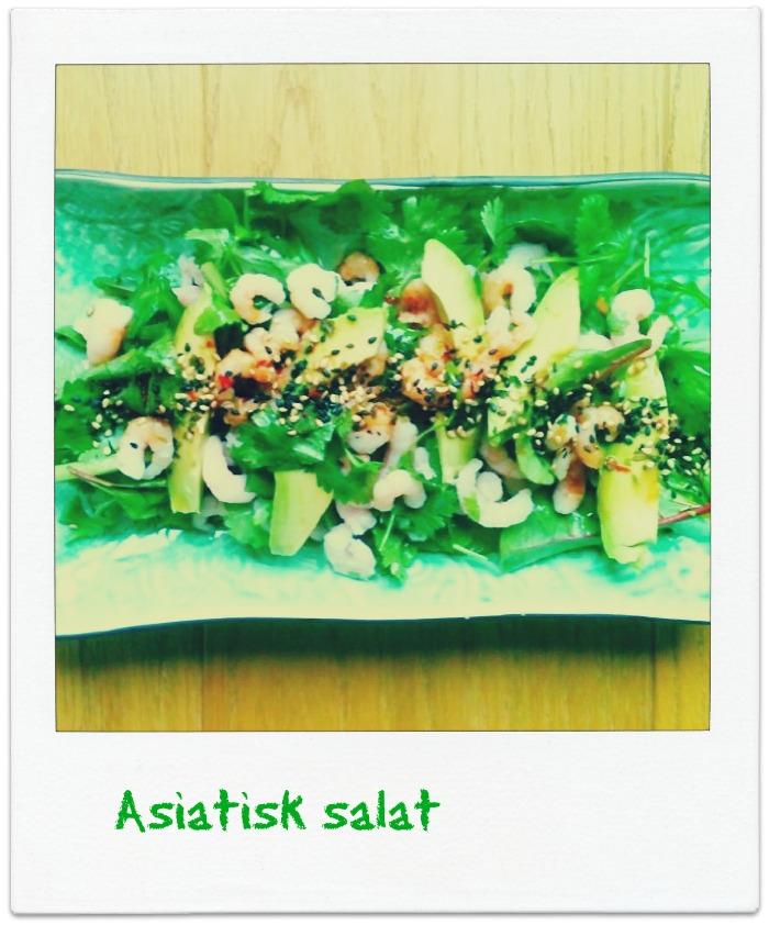 Ingeniørfruens asiatiske salat