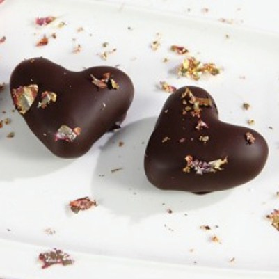 Marsipanhjerter til Valentine