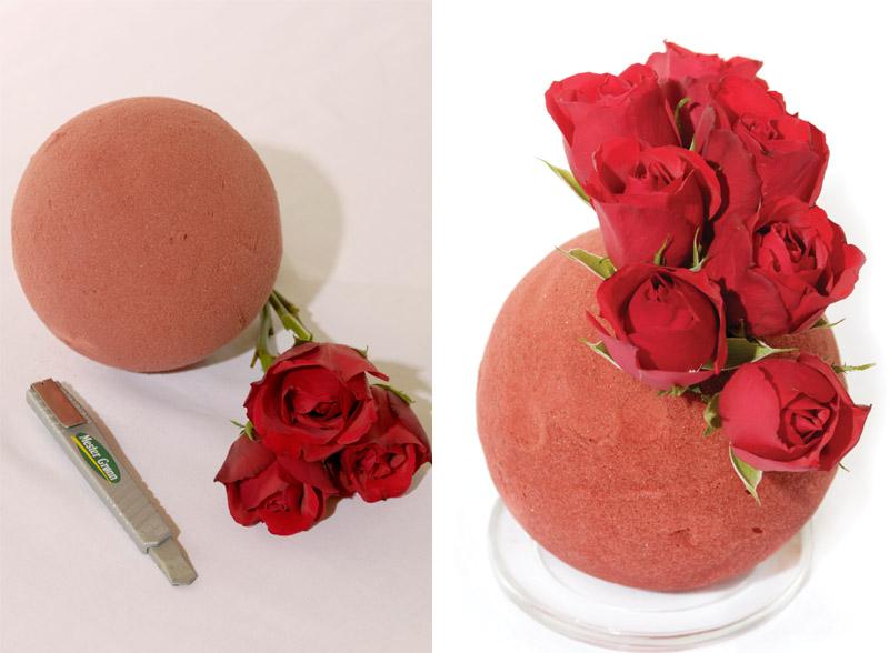JULEDEKORASJONER: Slik lager du rosekuler