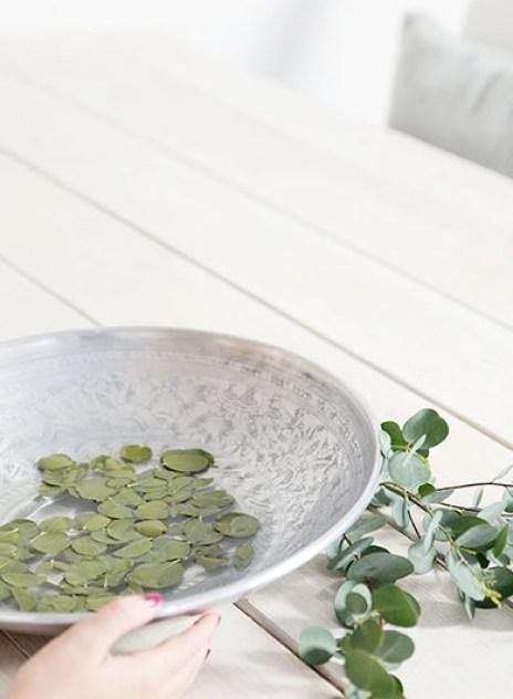 Eucalyptus-i-vannfat