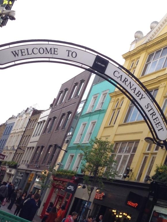 REISETIPS London på 24 timer Carnaby street