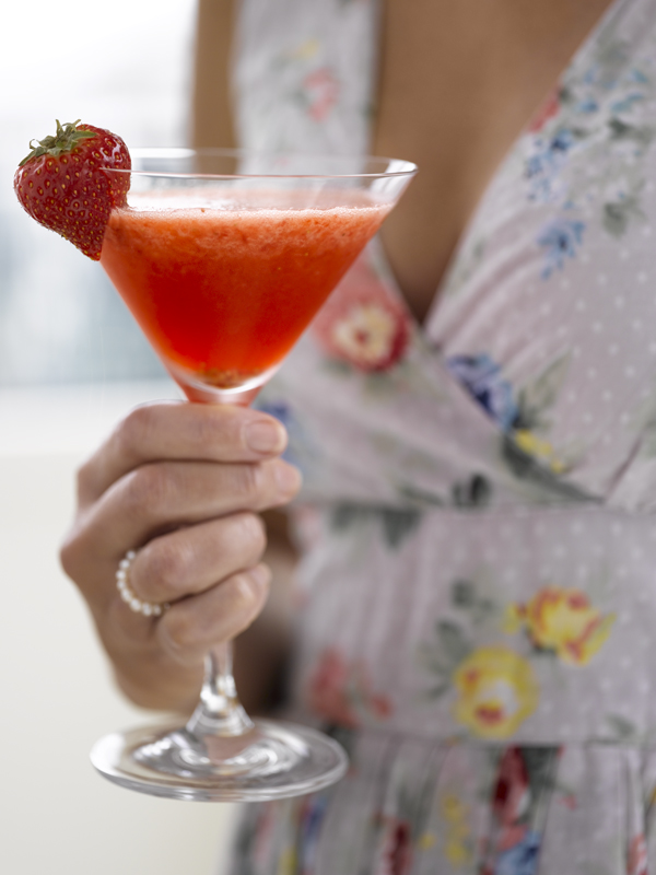 07 SOMMERDRINKER på idemagasinet.no - oppskrift på Strawberry Daquiry