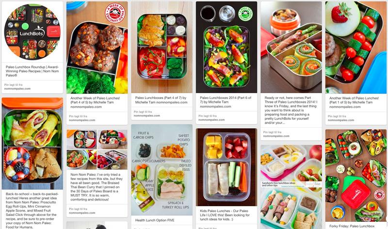Sunne og kreative ideer til matbokser uten brød