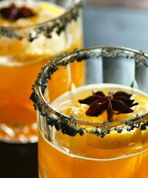 Cocktail med smak av høst