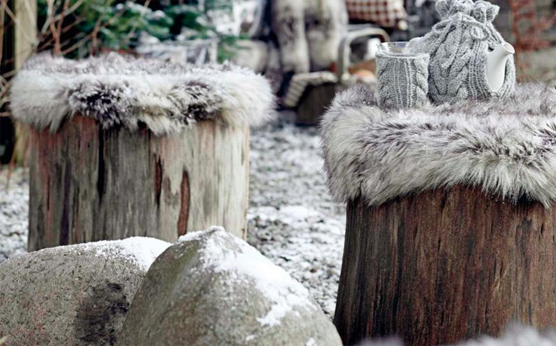 DIY - Mønster på trekk til trestubbe ©FOTO: Stoff & Stil