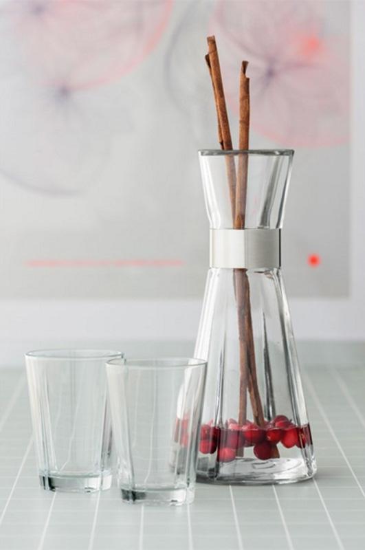 Vann med smak -bær