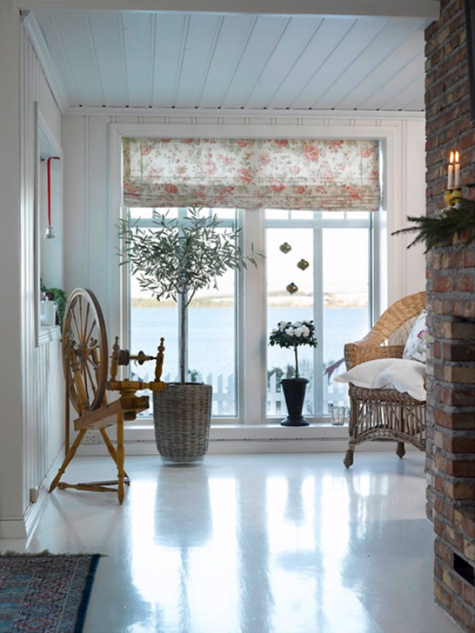 001b INTERIØRTIPS - Hjemme hos Bente - rustikk og romantisk jul ved Mjøsa