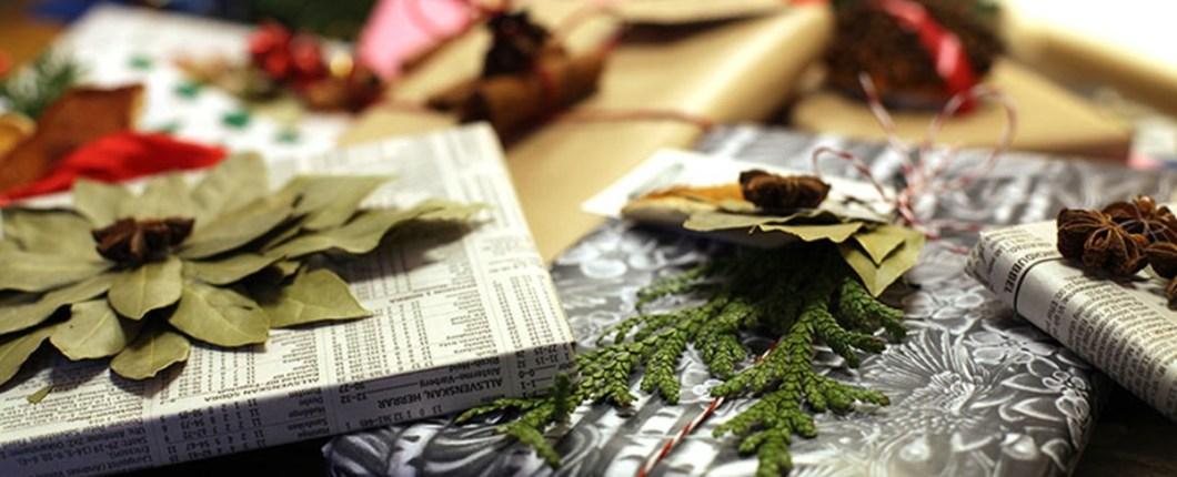 Kreativ julegaveinnpakking med krydder
