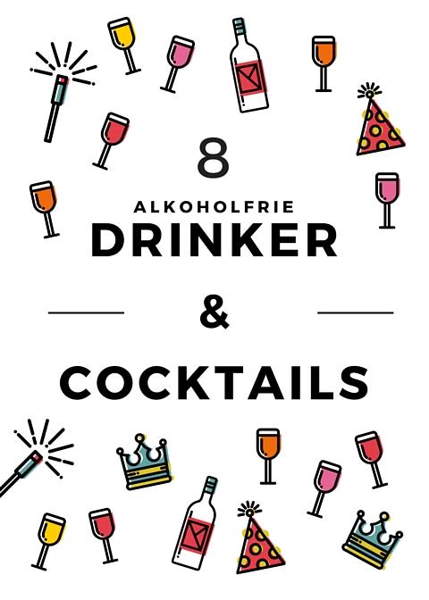 Oppskrifter på 8 alkoholfrie drinker & cocktails tli festen