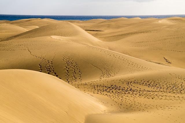 REISETIPS Gran Canaria Las Meloneras - ekspertenes tips - sanddyner