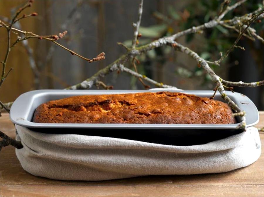 Turmat på hytta - enkel kake av kakemiks