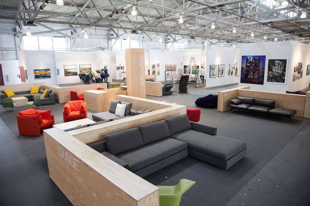 Arkitektura Lounge at ArtMarket San Francisco