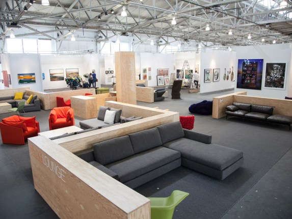 Arkitektura Lounge at ArtMarket San Francisco