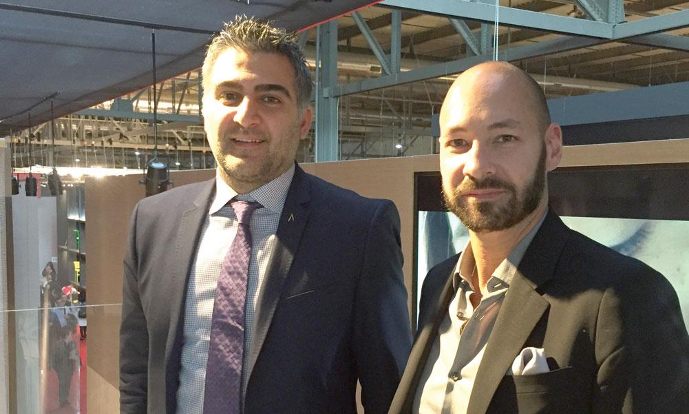 Amir Kazerani and David Levy of Flexform