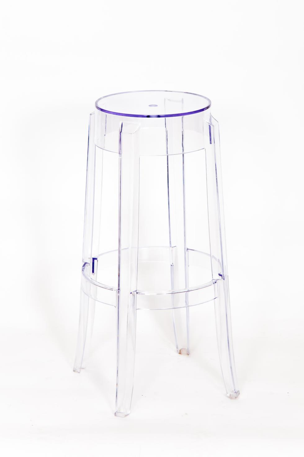 ghost bar chair cute chairs for sale marianne s rentals stool acrylic