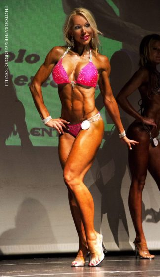 My first bikini fitness competition May 2015