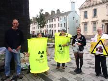 Nuclear Waste Barrels Whitehaven 2016
