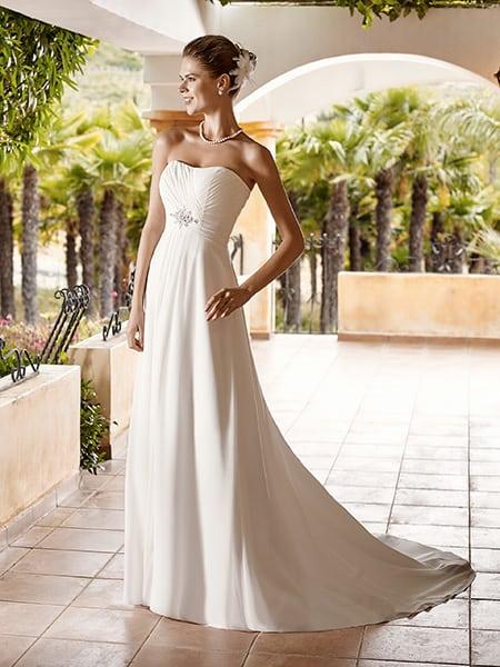 vestidos de novia blanco, elengate, sencillo, exclusivo, y economico