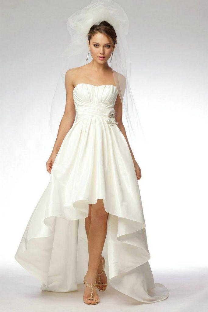 Vestidos de novia cortos - ¿Por qué no? - Marián Novias | Tienda de ...