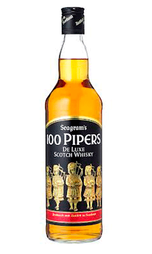 Comprar 100 Pipers 70 cl (whisky escocés) - Mariano Madrueño