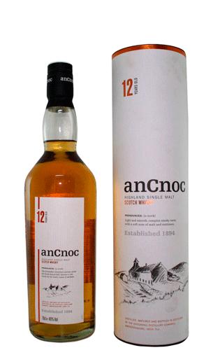 Comprar AnCnoc 12 años (whisky) - Mariano Madrueño