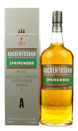 Auchentoshan Springwood litro (whisky escocés)
