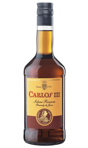 Carlos III - Comprar brandy solera reserva