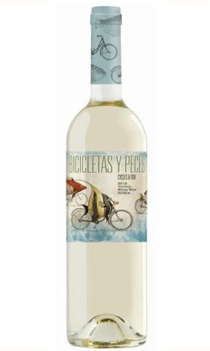 Bicicletas y Peces Verdejo - Comprar vino blanco de Rueda