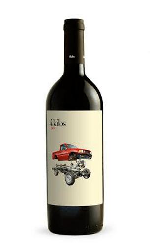 4 kilos - Comprar vino tinto alta expresión