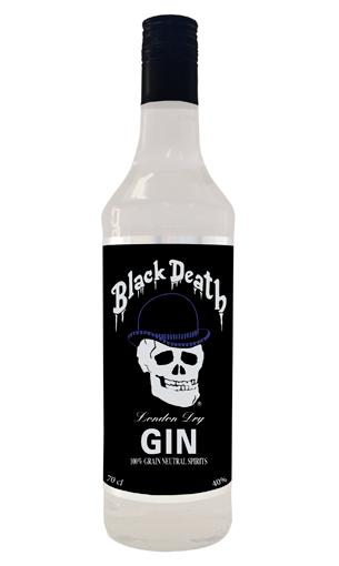 Comprar Black Death Gin (Inglaterra) - Mariano Madrueño