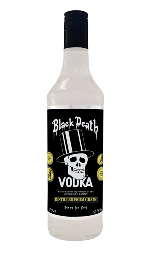 Black Death Vodka (Inglaterra) - Mariano Madrueño