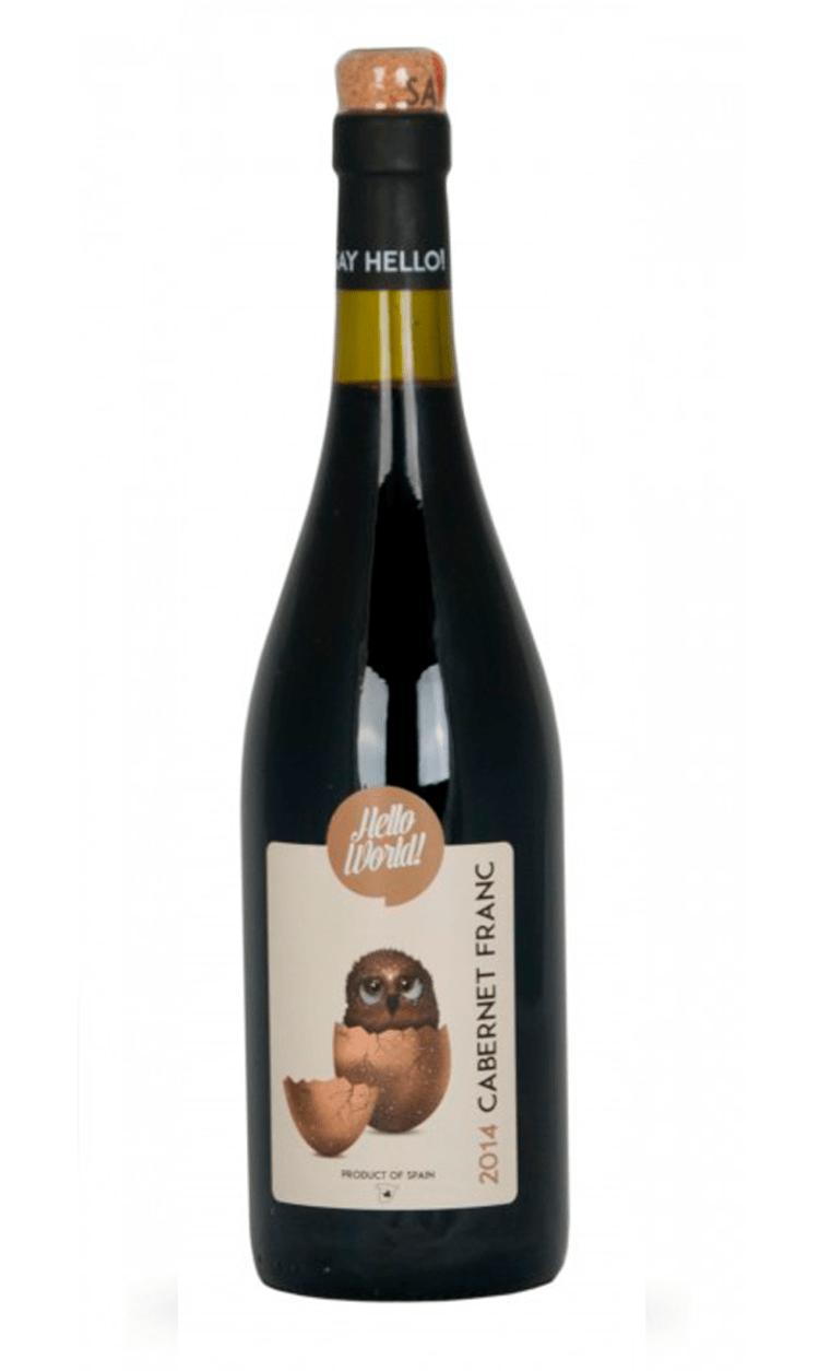 Hello World Cabernet Franc (Vino de la tierra de Castilla la Mancha)