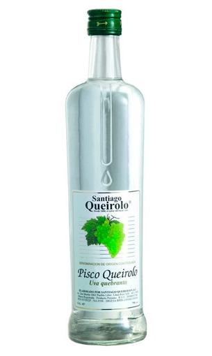 Comprar Pisco Santiago Queirolo Uva Quebranta - Mariano Madrueño
