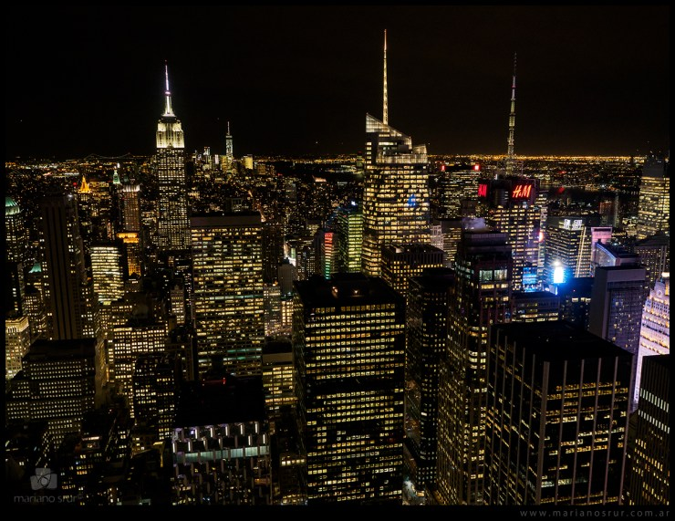 NYC desde Top of the Rock
