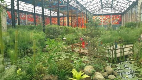 Más de 400 especies de plantas se encuentran bajo la obra