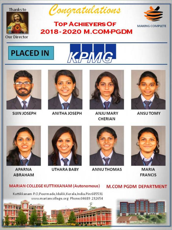 Placements in KPMG 2020