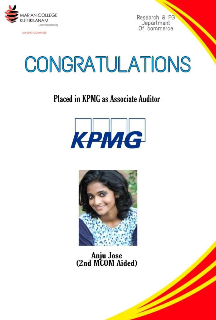 KPMG Placement 2020