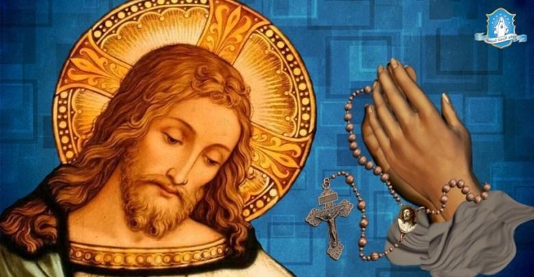Photo of مسبحة رأس يسوع الأقدس