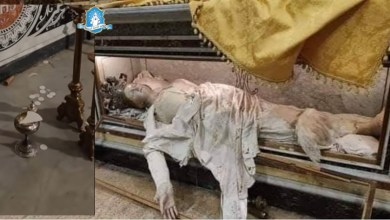 Photo of اقتحام كنيسة القديسة أغاثا والتعدّي على ذخيرة جسدها وتدمير المذبح وبيت القربان!
