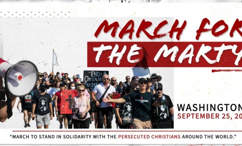 Photo of مسيرة ضخمة من أجل المسيحيّين المضطهدين حول العالم