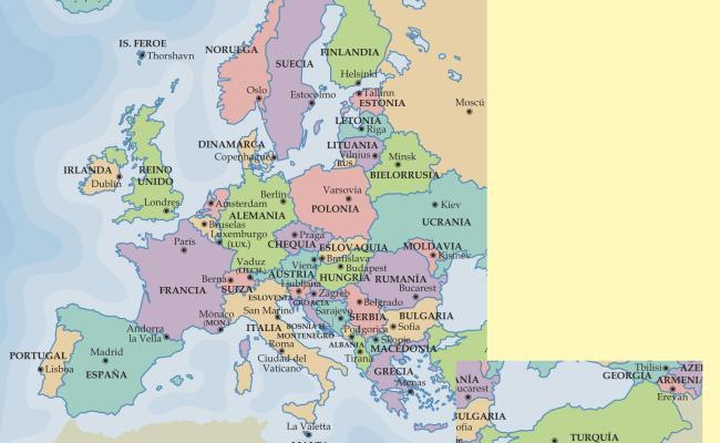 Mapa De Turquia En Europa