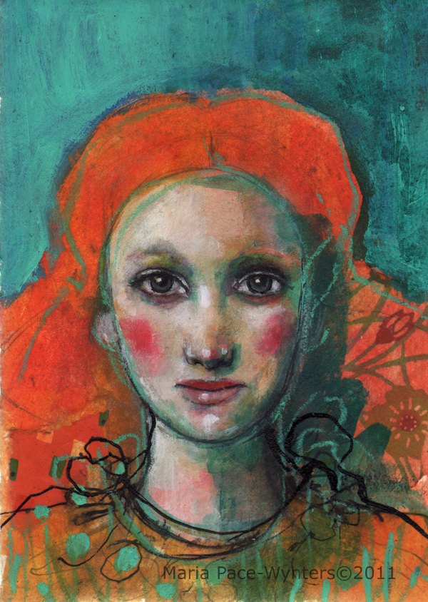 Red Hair Maria Pace-wynters