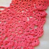 Ideas em Crochet #6: Lenço