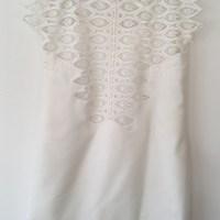 Ideias de Costura #10: Vestido branco com renda