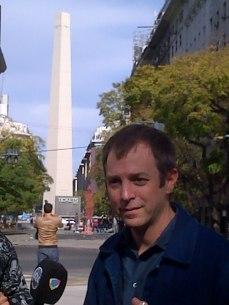 Erlich despuntando el vicio del Obelisco des